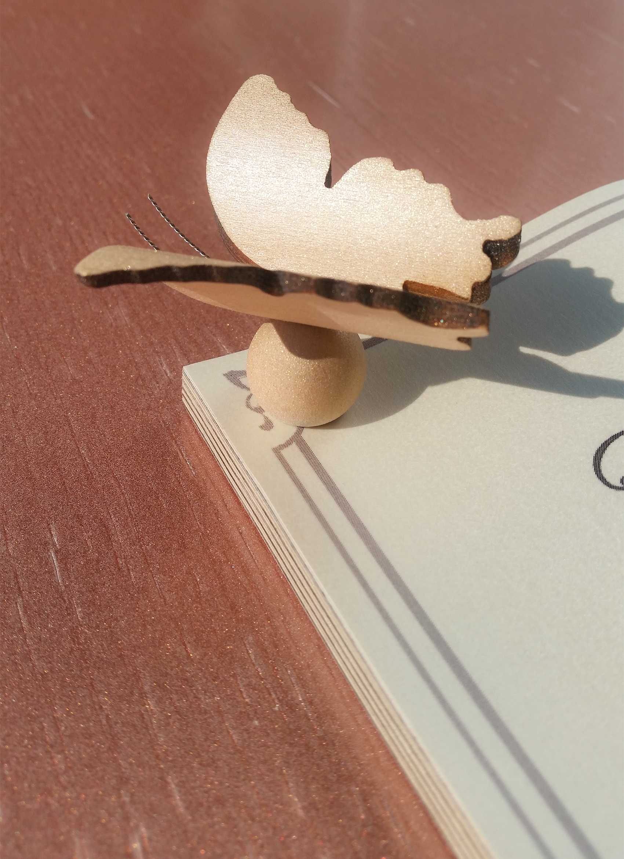 2  Maple Keepsake Butterfly