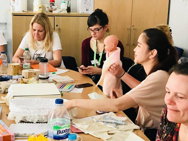 The Foundation trains NICU nurses at Luton NHS Trust