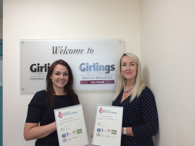 The Foundation offers in house training to Girlings Solicitors